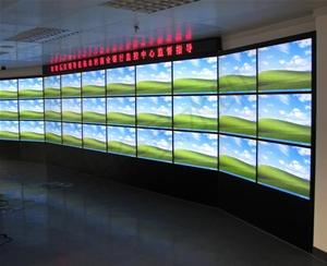DSQ-6商业银行电视墙完工